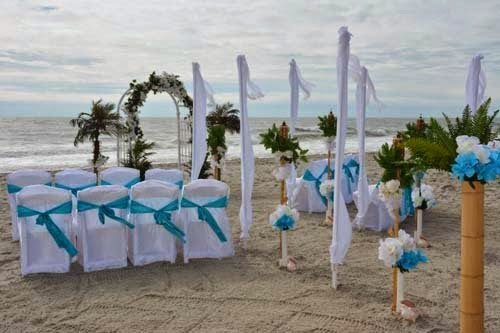 Beachsideoccasions: 2014 Beach Wedding Decoration Settings From Beach Occasions