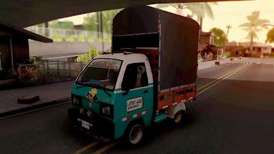 GTA San Andreas Suzuki Carry Con Estacas Car