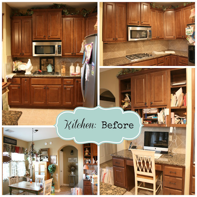 Farmhouse Kitchen With Dark Cabinets: From My Front Porch To Yours: French Farmhouse DIY Kitchen Makeover