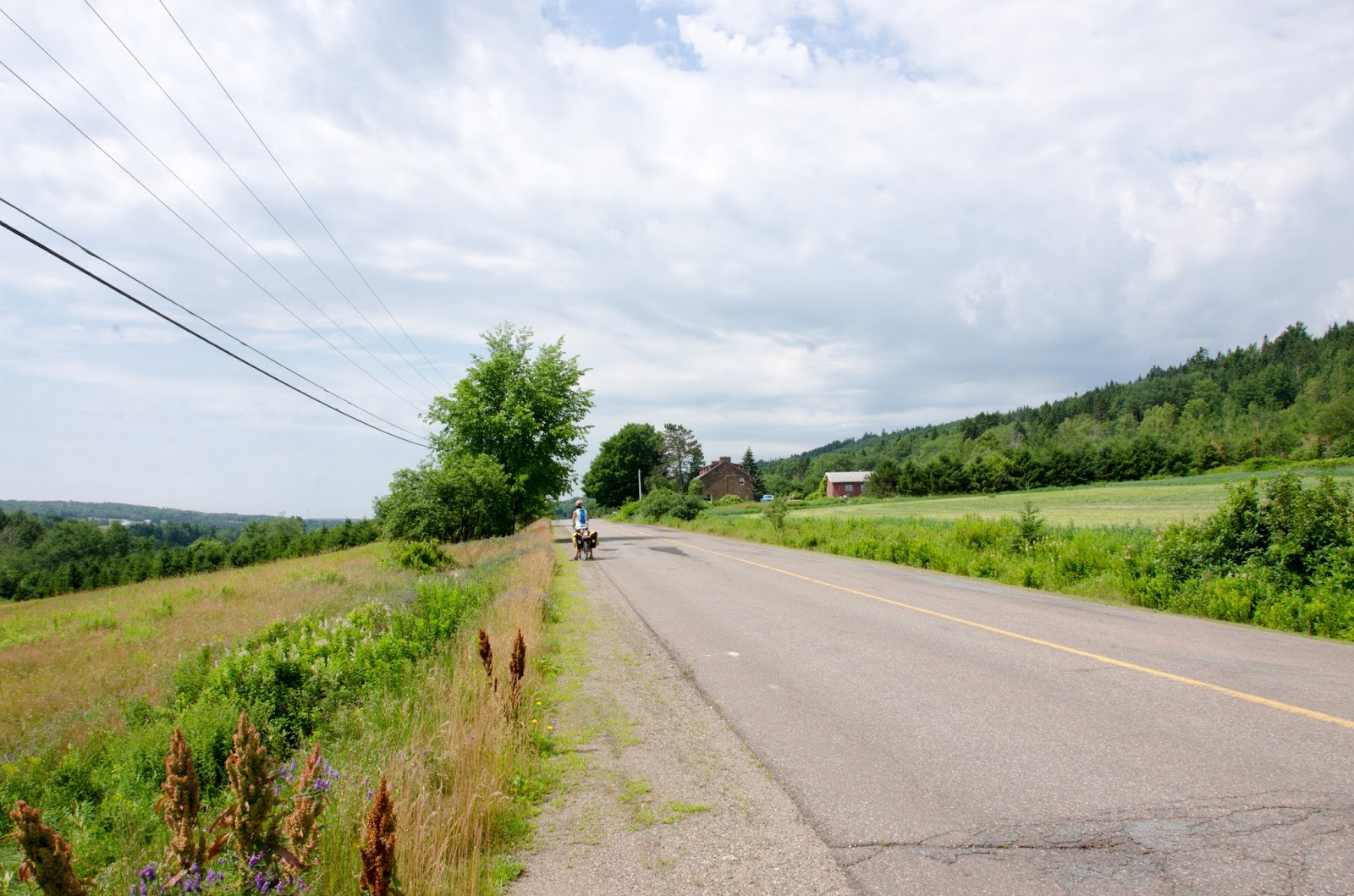 Di and steve go biking day 34 evandale new brunswick canada the road to evandale was peaceful malvernweather Choice Image