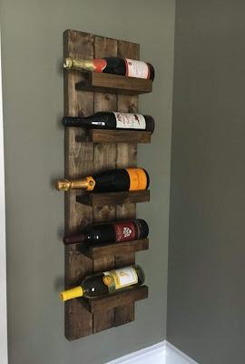 botellero rustico