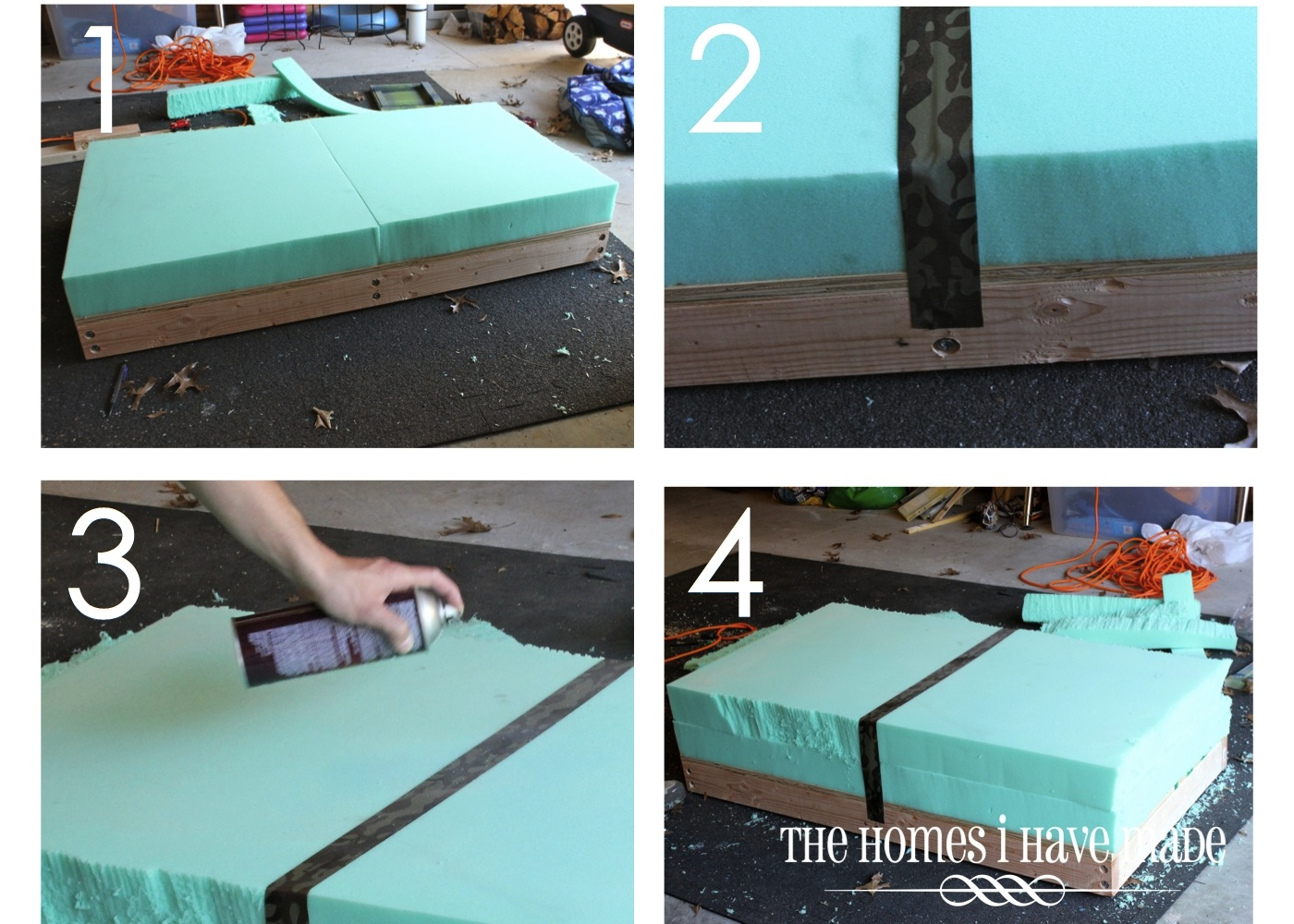 How To Make An Oversized Ottoman The Homes I