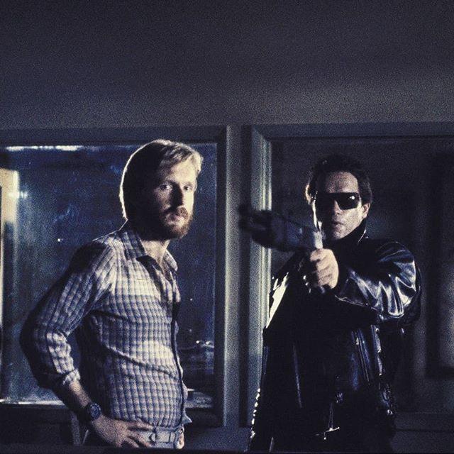 Fotografías de Terminator detrás de las cámaras - 1984