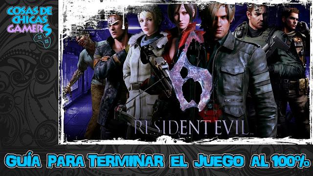 Guía Resident Evil 6 para completar el juego al 100%