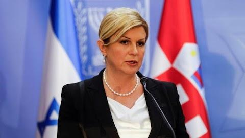 Kolinda Grabar-Kitarovic horvát államfő újraindul az elnöki tisztségért