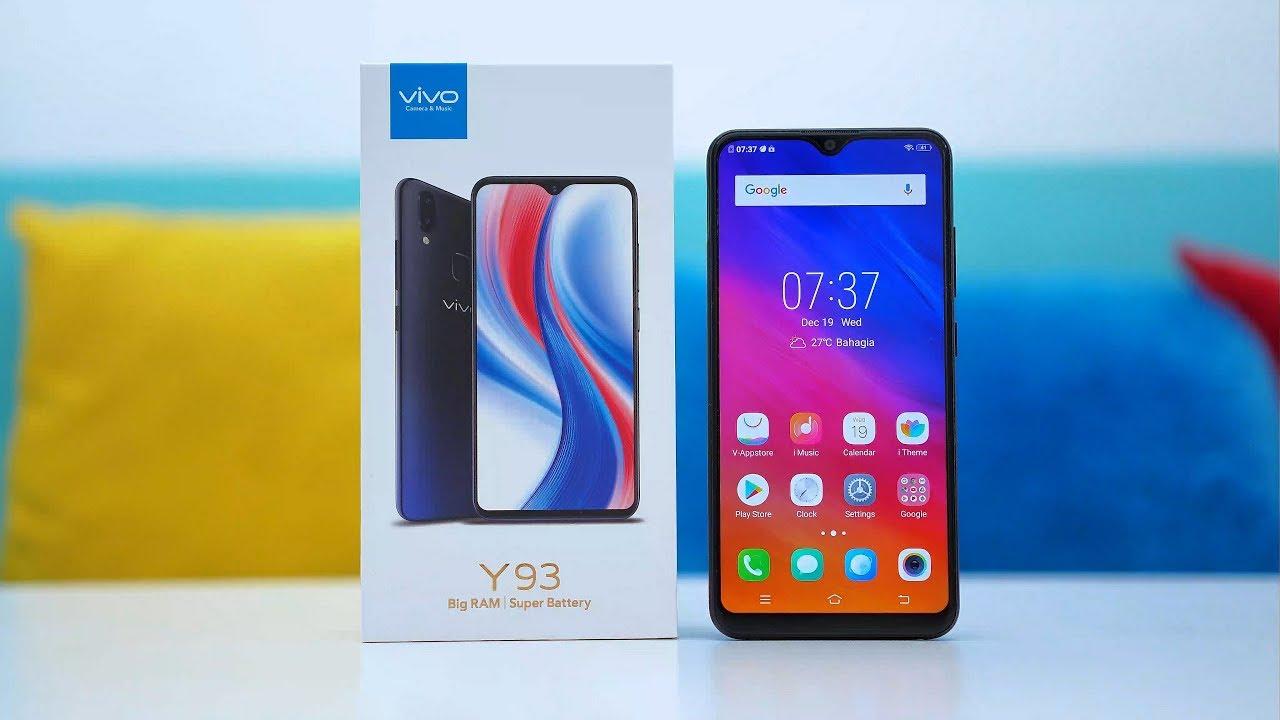 Review Harga Vivo Y93 dengan Kualitas Selfie dan Desain yang Cantik