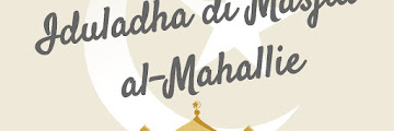 TRADISI KURBAN DAN IDULADHA DI MASJID AL-MAHALLIE