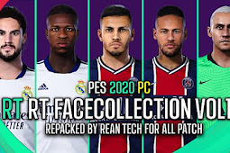 RT Faces Pack Collection Vol 1 - PES 2020