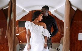 Malivelihood and Senator Smart Adeyemi's daughter, Adeola releases their pre-wedding photos