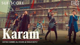Karam lyrics - Ustad Hamid Ali Khan & Raga Boyz