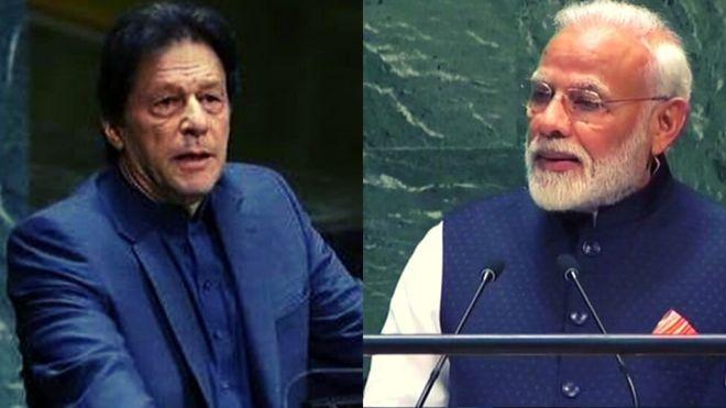 UNGA speech Modi vs Imran: Modi's speech hits in India;