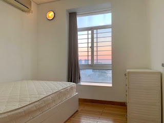 phòng ngủ căn hộ sky garden 3 phú mỹ hưng