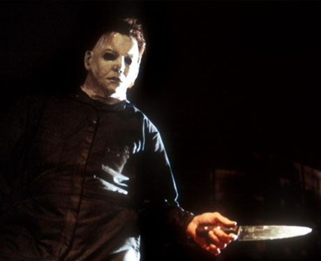La máscara de Michael Myers en Halloween