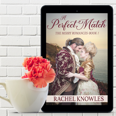 New Kindle cover for A Perfect Match by Rachel Knowles