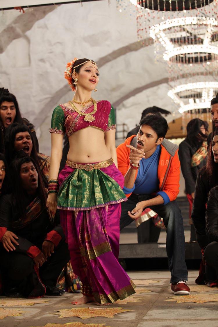Pawan Kalyan and Tamanna – CGR stills