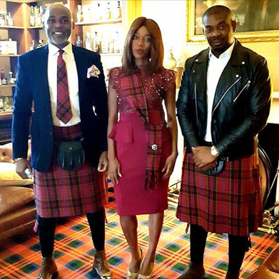 Don Jazzy, RMD, OAP Destiny Amaka in Scotland