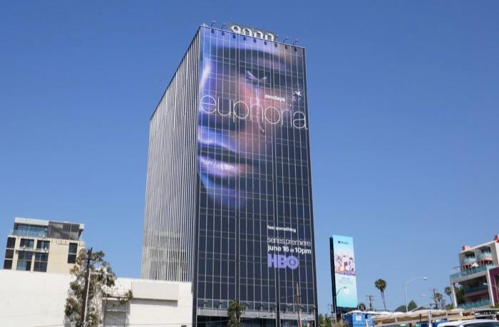 Zendaya Euphoria series launch billboard