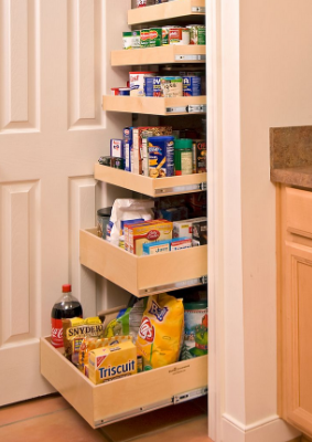 DIY KITCHEN STORAGE IDEAS
