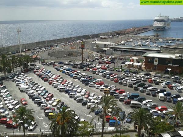El Ayuntamiento de Santa Cruz de La Palma pide a Puertos la cesión formal del suelo donde se ubica la principal bolsa de aparcamientos de la ciudad