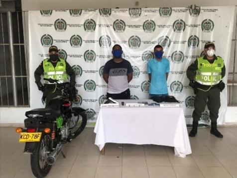 Cayeron ' Los de la Moto Negra ' después de atracar a una mujer en Valledupar