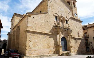 Fundación Quílez Llisterri, iglesia, Beceite, San Bartolomé