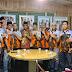 Ketua Umum DPP Santri Tani NU T.Rusli Ahmad sambut kedatangan Pengurus Badan Buruh dan Pekerja Pemuda Pancasila Riau di Agrowisata RA Kopi Aren Palas