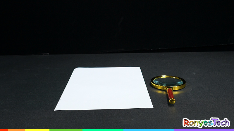Burning up the Paper with a Magnifying Glass