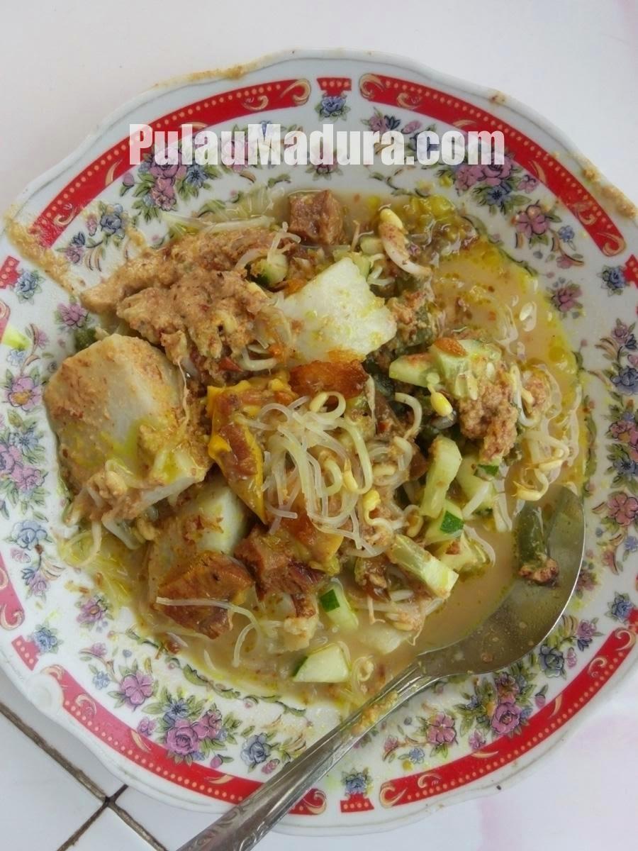 Kuliner Khas Bangkalan Rujak Soto Madura