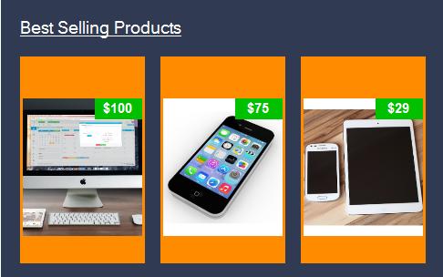 VB.Net Dashboard Design - Products