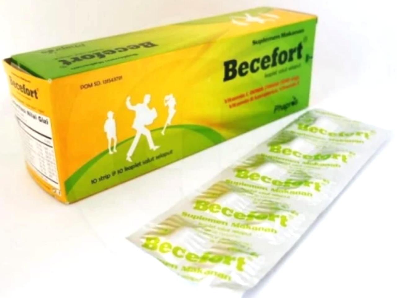 Becefort Obat Apa