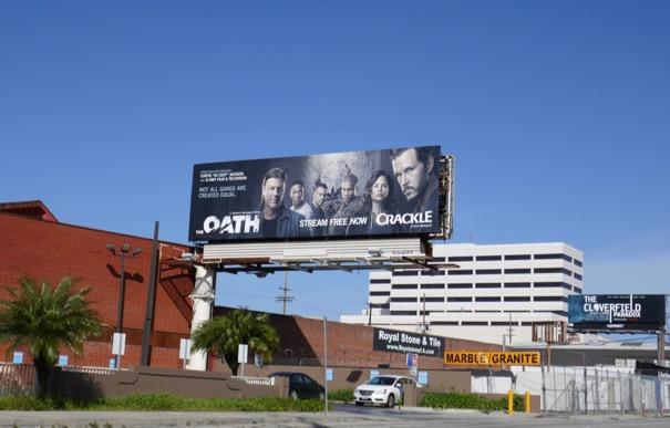 Oath season 1 billboard