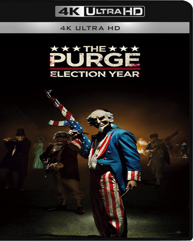 The Purge: Election Year [2016] [UHD] [2160p] [Latino]