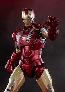 S.H.Figuarts Iron Man, Capitán América, Thor y Hulk de Avengers - Tamashii Nations