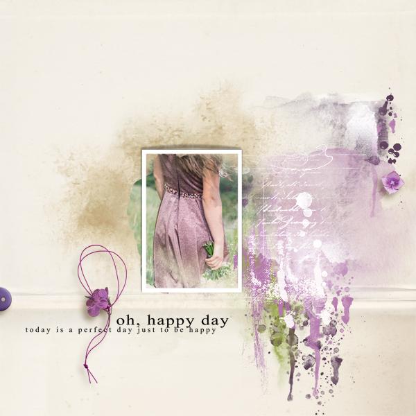 oh happy day © sylvia • sro 2019 • softly summer berry blends fwp kit by tiramisu design & natali designs