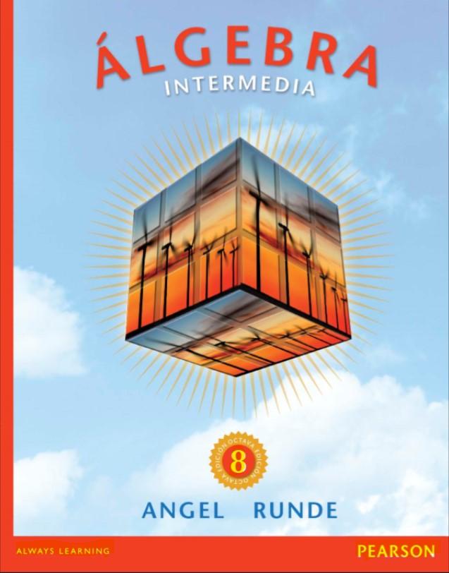 algebra intermedia, Angel & Runde, 8ed en pdf