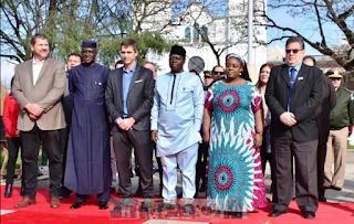 """Resultado de imagen para """"TENEMOS BUENAS EXPECTATIVAS SOBRE EL VÍNCULO CON NIGERIA QUE IMPULSAMOS CON EL INTENDENTE CRESTO"""", DIJO EL EMBAJADOR"""