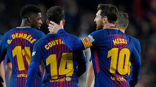 اهداف ونتيجة مباراة برشلونة وليفانتي اليوم 17/1/2019 Copa del Rey Barcelona vs Levante