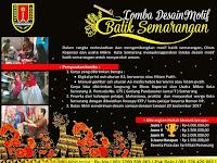 Pemkot Semarang Gelar Lomba Desain Batik Semarangan