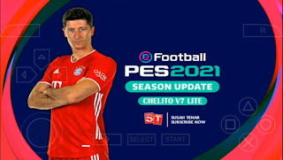 Download PES 2021 PPSSPP Season Update Chelito V7 LITE Android Best Graphics New Kits & Update Transfer
