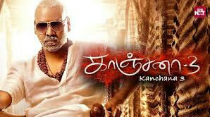 Kanchana 3 (2019) is a tamil language action-horror comedy film starring Lawrence Raghavendra, Oviya and Vedika in the lead roles