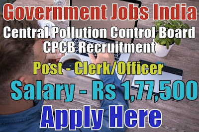 Central Pollution Control Board CPCB Recruitment 2017