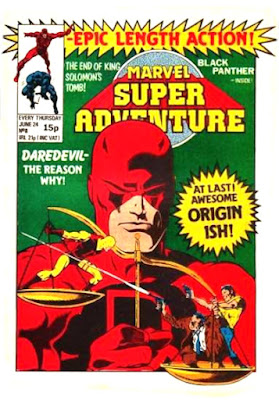 Marvel Super-Adventure #8, Daredevil