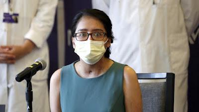 El coronavirus destruye por completo sus pulmones y sobrevive gracias a un doble trasplante