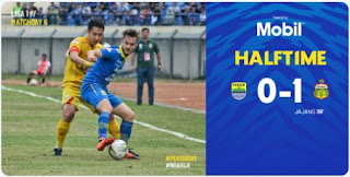 HT: Persib vs Bhayangkara FC 0-1 #PersibDay