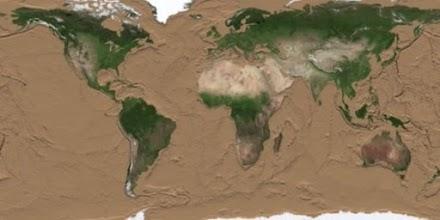 Πώς θα έμοιαζε η Γη εάν στέρευαν οι ωκεανοί – Απίστευτες εικόνες