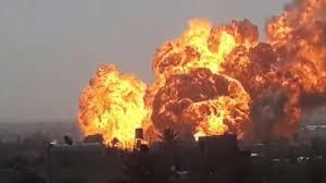 عشرات القتلى والمصابين معظمهم فى حالة خطرة فى انفجار ضخم