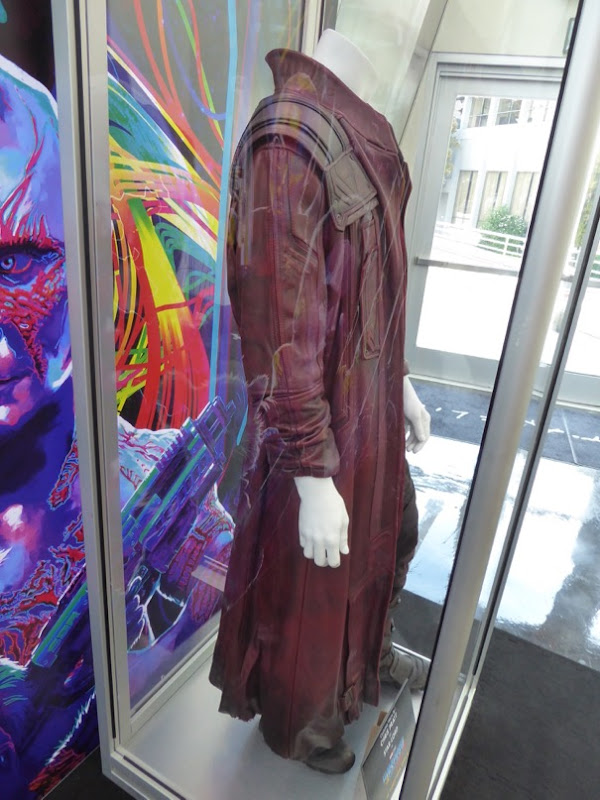 Guardians of the Galaxy 2 Star-Lord coat detail