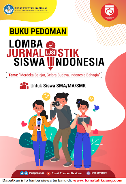 buku pedoman lomba jurnalistik siswa indonesia ljsi tahun 2020 tomatalikuang.com