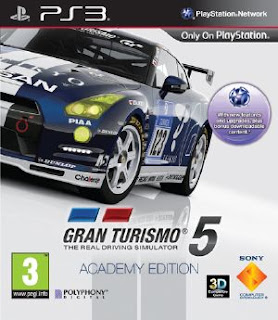 GRAN TURISMO 5 ACADEMY EDITION PS3 TORRENT