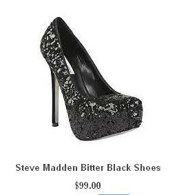 Steve Madden Bitter Black Shoes